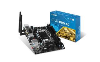 Спонтанная покупка MSI H170I-Pro AC вместо Asus H170I-Pro