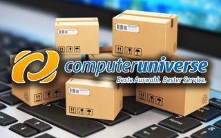 Покупка комплектующих в Computeruniverse: корпус, SSD и видеокарта