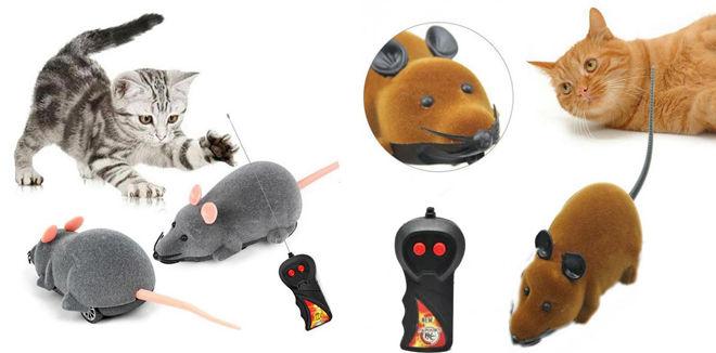 Беспроводная игрушечная мышь