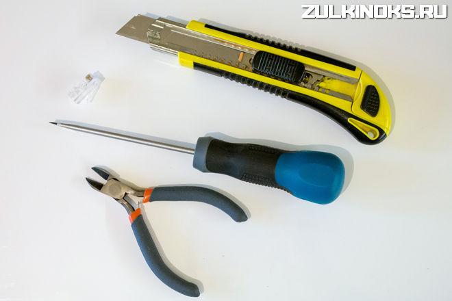 Инструменты для ручного обжима