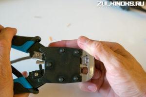 Обжатие провода