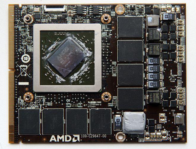 Видеокарта ноутбука AMD